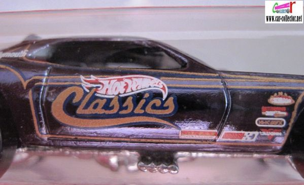 plymouth barracuda funny car hot wheels classics 2 series (