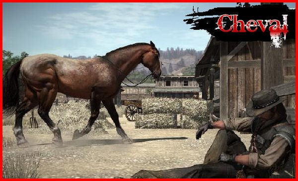 red dead redemption les chevaux jeux vid o uncharted 2 among thieves red dead redemption. Black Bedroom Furniture Sets. Home Design Ideas