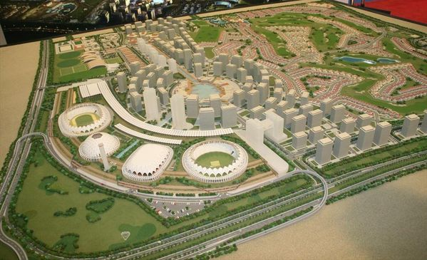 2108Dubai Sports City Model Pict 3