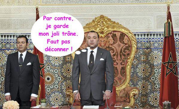 Maroc : Le discours de Mohammed VI hué par Oussama Elkhlifi et des jeunes démocrates