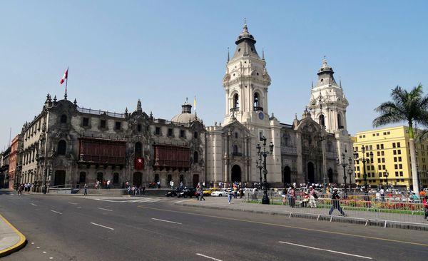 Lima cathédrale 2