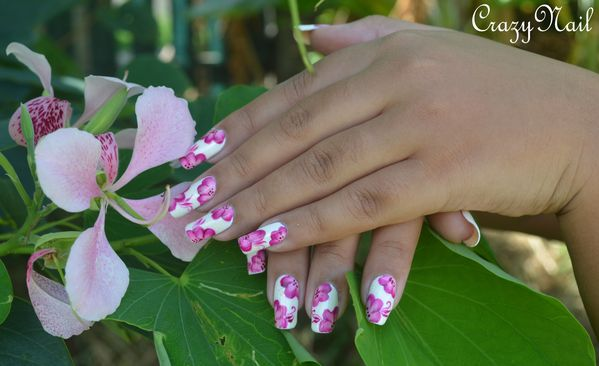 one stroke girly- nail art 974 (1)