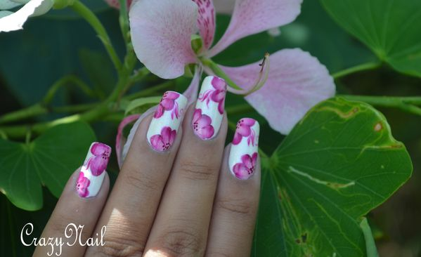 one stroke girly- nail art 974 (2)