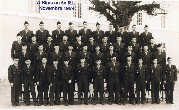 5eme R.I. a BLOIS Guy MARTIGNON