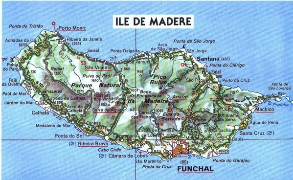 Madere carte