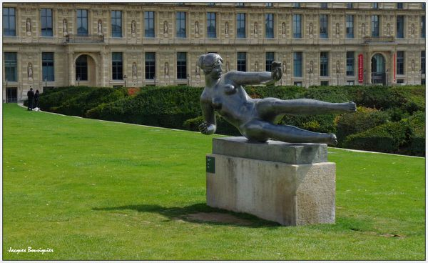 Maillol Air Jardins Carroussel Paris 1