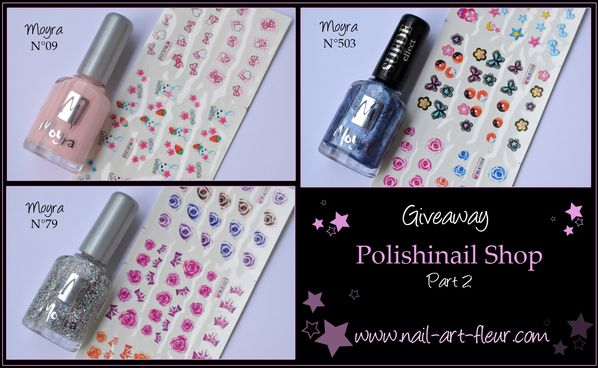 Giveaway Polishinail shop Vernis Moyra