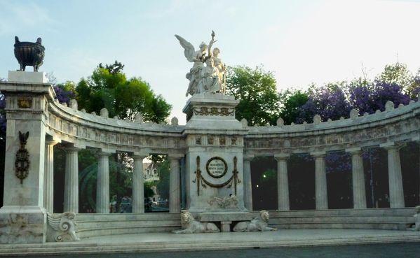 Mexico Monument Benito Juarez