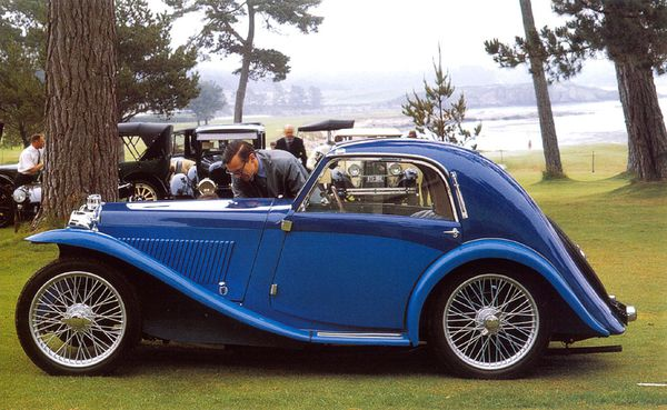 MG PA Airline coup 1935 1