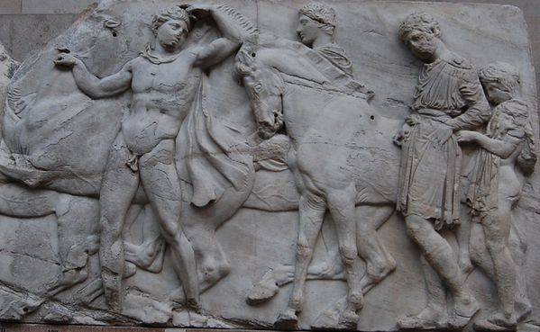 Athenes frise du Parthenon frieze (9)
