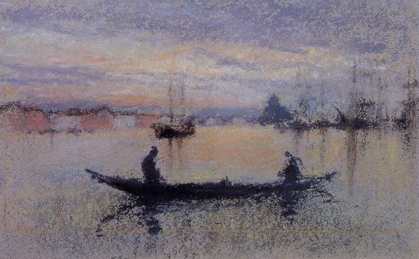 James Whistler dessin venise be