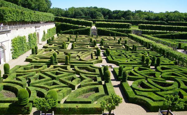1512 Jardin et Château de Villandry