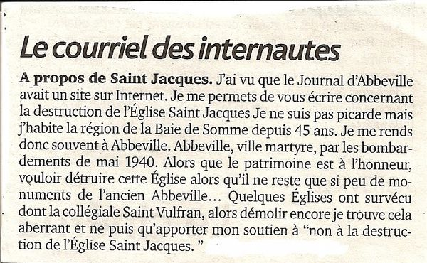 article J.Abbeville du 27 octobre 2010