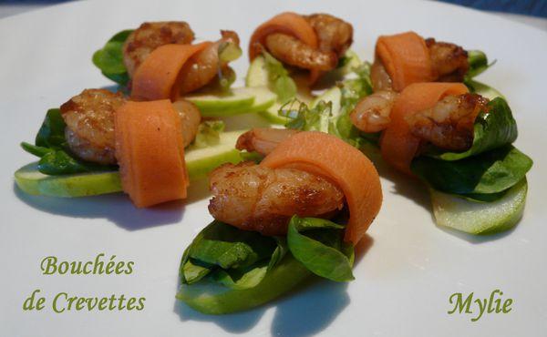 bouchée de crevettes 1
