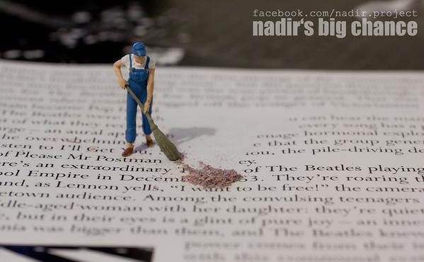 nadir's big chance h