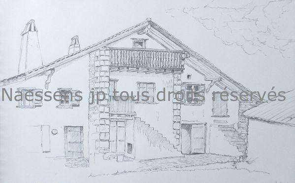 Dessins et caricatures animation caricaturiste for Croquis d une maison