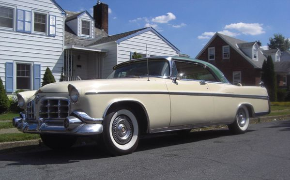 Imperial coupe Southampton 1956