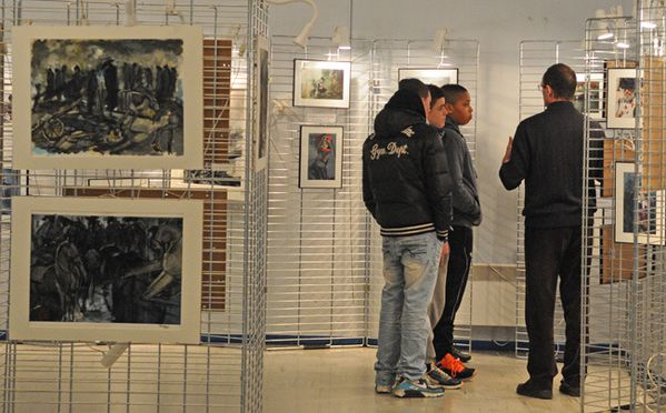 SANTENY, exposition-conférence FARINE--------------