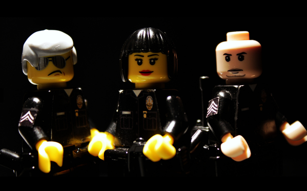 lego police force brick policeh
