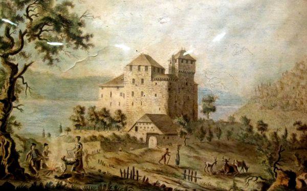 Menton château 1519