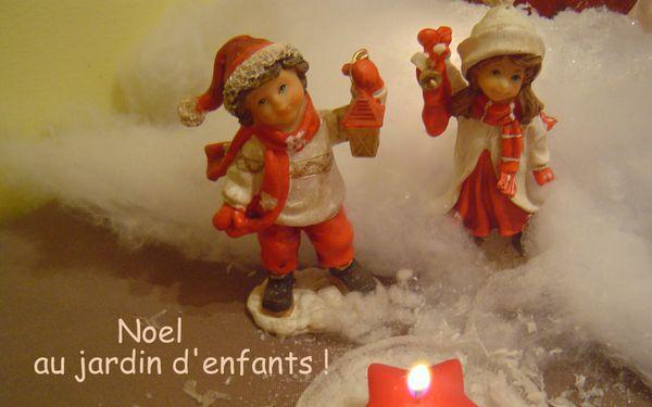 NOEL 2013 JARDIN D'ENFANTS