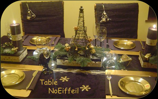 D co noel table noeiffeil art de la table art for Deco in paris