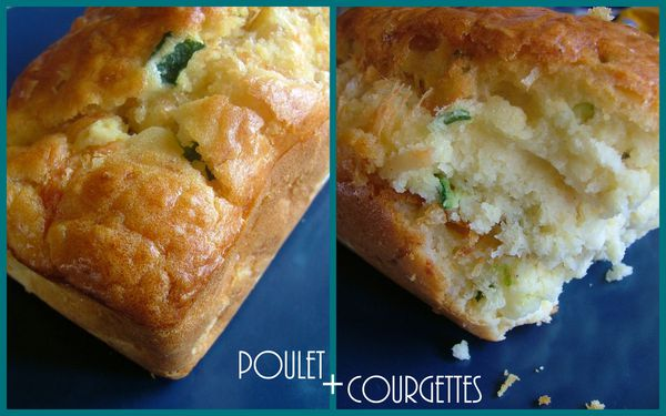 cake poulet courgettes