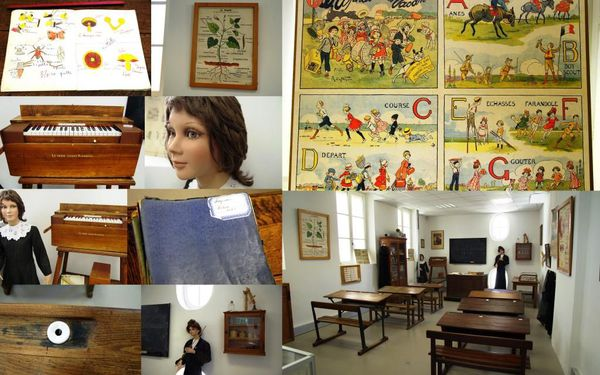 Musée du Plâtre Cormeilles-en-Parisis classe début XXèm