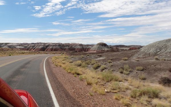 Painted Desert route