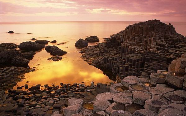 Britain--Basalt-Columns-of-Giant-s-Causeway-at-Sunset--Coun.jpg