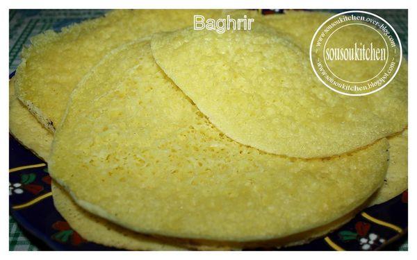 Baghrir بغرير(Crepes marocaines)