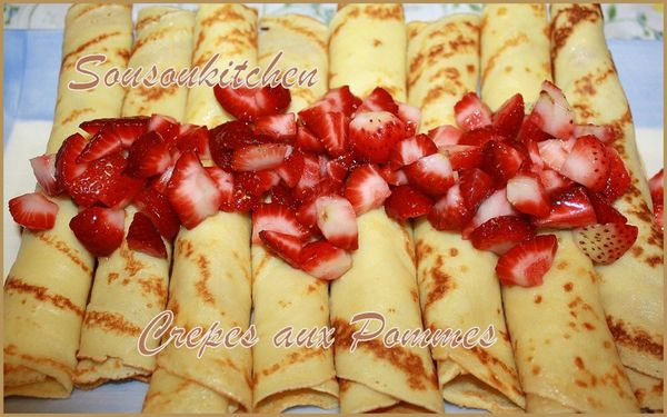 2011-03-10 Crepes aux pommes et fraises2
