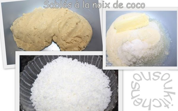 Sabls  la noix de coco