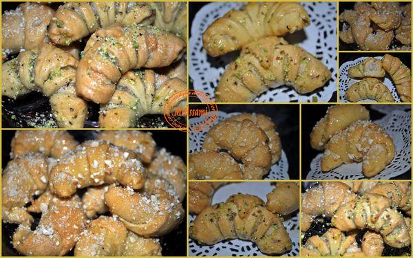 tchrak ou croissant au miel