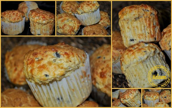 muffins sal s aux fromage olives et ciboulette couscous et puddings. Black Bedroom Furniture Sets. Home Design Ideas