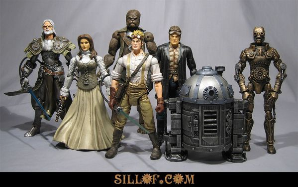 STAR WARS STEAMPUNK HEROES