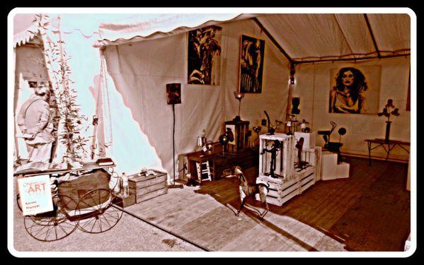 Installation espace créateurs d'art Alès