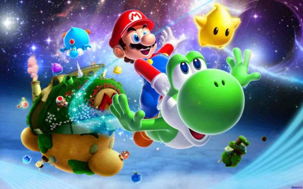Super Mario Galaxy 2 up