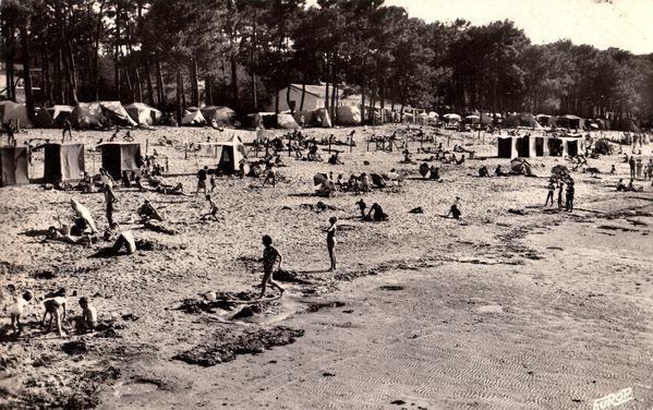 Au milieu des deux campings donnant sur la plage,le restaur