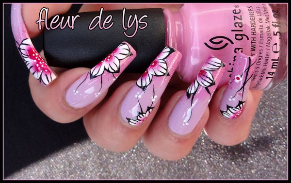 Nail Art printemps Japon