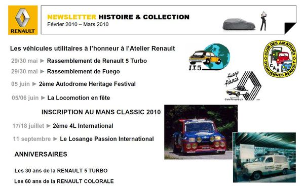 NEWSLETTER HISTOIRE & COLLECTION