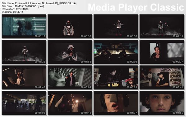 Eminem ft. Lil Wayne - No Love (HD) RIDDECK