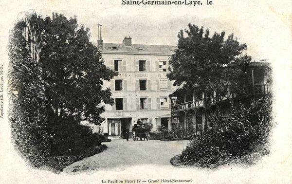 Le Pavillon Henri IV à Saint-Germain-en-Laye