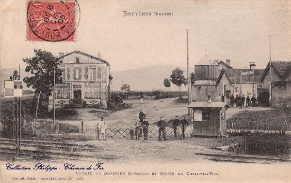 08 26 CPA Bruyères