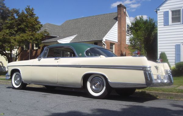 Imperial coupe Southampton 1956 61