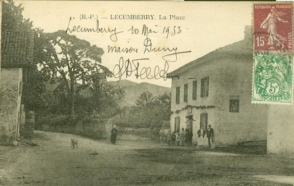 Maison Duny Lecumberry 1933