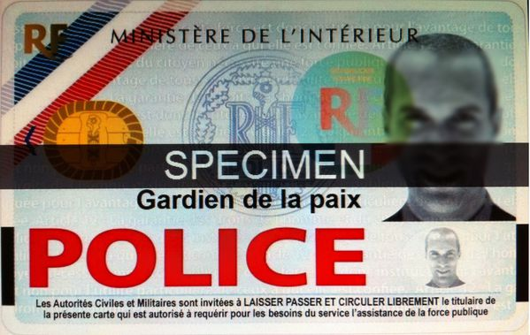 Carte Professionnelle Police Nationale.Nouvelle Carte De Requisition De La Police Police