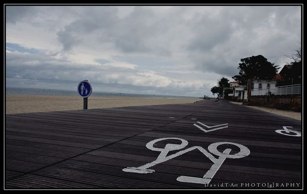 piste cyclable arcachon