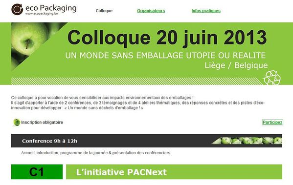 Capture formulaire ecopackaging.be