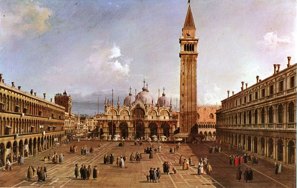 20-Canaletto-Piazza san Marco-1740
